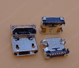 Wholesale Usb Plug Pcb - 10pcs lot for Samsung Galaxy Trend Lite S7390 s7392 micro mini usb charge charging connector plug dock plug jack socket port pcb