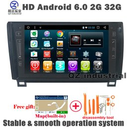 Wholesale Free Link Building - HD 1024*600 9inch 2G 16G Android 6.0 for Toyota Sequoia Tundra car DVD player with GPS 3G 4G WIFI Radio SWC mirror link BT OBD DAB+ free map