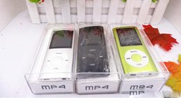 """Mp4 игрок 4-го поколения онлайн-Новый 1.8 """" ЖК-экран MP3 / MP4 Multi Media Video Player музыка FM-Радио 4-го поколения с TF / SD слот для карты памяти 1-16gGB TF Card с коробкой"""
