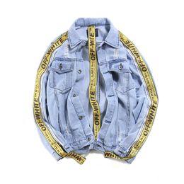 Wholesale Cotton Denim Shirts Men - Korea GD with paragraph uhuzz streamers jacket long-sleeved students denim jacket male loose personality washed shirt tide