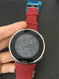 Wholesale Butterfly Digital - New fashion digital watch top quality quartz watches for men rubber wristwatch G02