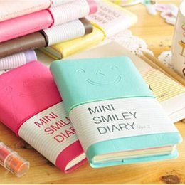Wholesale Smiley Diary - Wholesale- planner diary sketchbook material escolar caderno agenda cuadernos journal smiley agendas personal diaries nootbook note book