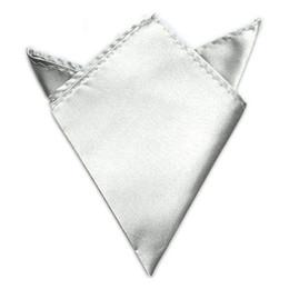 Wholesale Mens Silk Handkerchiefs Wholesale - Mens Suit Pocket Square Handkerchief Multicolor Silk Hanky for Wedding Party DHL&FEDEX Free Shipping
