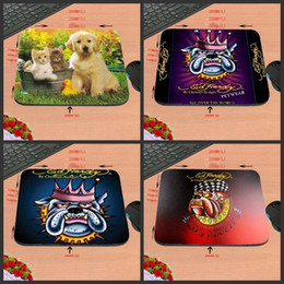 pet rubber Australia - DIY Pet Dogs And LOGO, Prevent Slippery Rectangular Rubber Game Office Computer Mouse Pad Notebook Cushion, Decorate Desk As A Gift