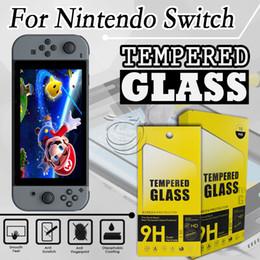 Canada Protecteur d'écran en verre trempé pour Nintendo Switch 6.2inch Accessoires de téléphone portable avec emballage Offre
