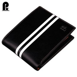 Wholesale Mens Passport Holder - Wholesale- designer Famous Brand luxury men wallets leather pu mens wallet Solid Short money clip purses wallets portfolio man cuzdan sale