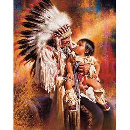 Deutschland Indians hand Baby DIY Mosaik Handarbeiten Diamant Malerei Stickerei Kreuzstich Handwerk Kit Wand Home Hängen Dekor Versorgung