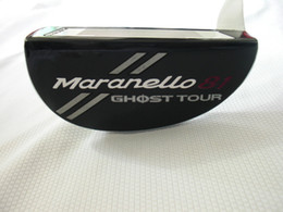 Wholesale Ghost Clubs - Ghost Tour Maranello-81 Putter Ghost Tour Golf Putter Golf Clubs 33 34 35 Incn Steel Shaft With Cover