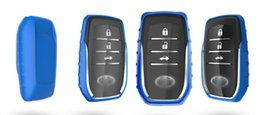 Wholesale Toyota Vios Key Casing - Car-covers TPU Soft Car Key Cover Case For key TOYOTA SPECIAL for CROWN PRIUS COROLLA VIOS CAMRY REIZ Keyrings Car Accessories