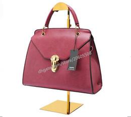 Handtaschenregal online-Beste verkaufende neue art titanium gold stainess stahl handtasche display-ständer perücke hut geldbeutel frauen tasche display halter rack regal 10 stücke