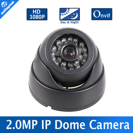 Wholesale H 264 Outdoor Poe - H.264 Mini Dome IP Camera 1080P HD Security Indoor CCTV Camera 2MP 1920*1080 IR-CUT Onvif P2P Support Phone Android IOS View