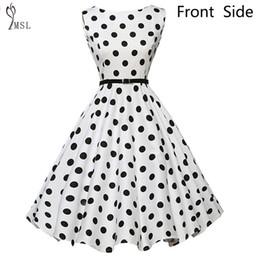vestito di polka Sconti Ingrosso- 40% N5862 Robe Femme Dress Audrey Hepburn  Vintage Rockabilly 6a38b72c453
