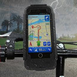 Benzersiz Su Geçirmez Bisiklet Bisiklet Gidon Klip Standı Tutucu Dağı Braketi Darbeye Telefon Kılıfı Için iPhone X 8 7 6 s artı Perakende Paketi Aicoo nereden