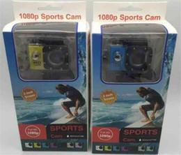 Wholesale Pink Hd - 2018 Hot Sport Camera action new SJ4000 freestyle 2inch LCD 1080P HD HDMI action camera 30 meters waterproof DV camera sports helmet SJca