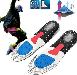 Wholesale Cushion Arch Support Shoe Inserts - 1 Pair Free Size Unisex Gel Orthotic Sport Shoe Pad Arch Support Insoles Insert Cushion