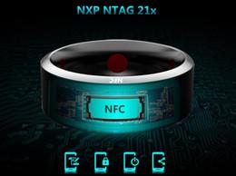 Wholesale Titanium Cat Ring - Hot sale Jakcom rR3 NFC Magic Smart Rings IOS Android windows system NFC mobile phone cat