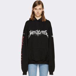 Vetements Noir À Capuche Hommes Hip Hop Streetwear Graphique Imprimer Surdimensionné À Capuche Sweat Manteau D'hiver Femmes Hommes YJH1101 ? partir de fabricateur