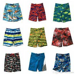 Wholesale Kids Boys Sweatpants - Kids Brand Beach Pants Fashion Beach Shorts Boys Swimming Trunks Sweatpants Swim Trunks Beach Wear Board Shorts Half Loose Surf Pants LD54
