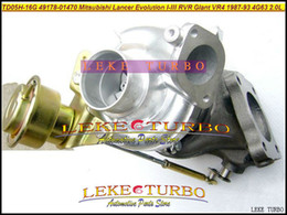 Wholesale Mitsubishi Lancer 4g63 - TD05H-16G 49178-01470 49178 01470 ME080442 ME080341 Turbo For MITSUBISHI Lancer Evolution I II III RVR Galant VR4 87- 4G63 4G63N 2.0L 270HP
