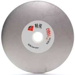 "Wholesale Flat Metal Disk - 4"" inch Grit 1000 Electroplated Diamond Grinding Disc Wheel Coated Flat Lap Disk Lapidary Tools for Gemstone Jewelry Glass"