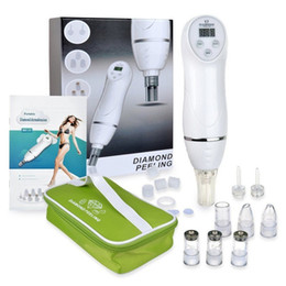 Wholesale Diamond Microdermabrasion Skin Peel Machine - 6 Tip Facial Care Beauty Device Skin Diamond Dermabrasion Removal Scar Acne Pore Peeling Machine Care Massager Microdermabrasion