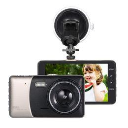 "Wholesale Dual Loop - 4""Dual Lens Car DVR Camera Recorder Dash Cam Camcorder Full HG 1080p LED Night Vision   Motion Detection   Loop Recording"