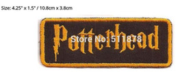 "Wholesale Iron Harry Potter Patch - 3.75"" Harry Potter Potterhead Fandom Pride patch Movie TV Series Costume Halloween cosplay Embroidered iron on badge TRANSFER"