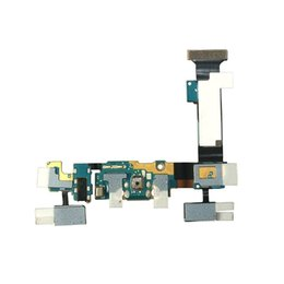 Wholesale Microphone Port - Samsung Galaxy S6 Edge Plus G928T G928A G928V G928F USB Charging Port Flex Cable Dock Connector USB Port With Audio Jack Mic Microphone