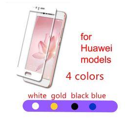 huawei honor p6 Скидка Закаленное стекло 2.5D 0.26MM 9H Для Huawei P9 plus honor 9 8 P8 lite P10 plus Полное прозрачное стекло протектор экрана оптом OPP сумка BFM011