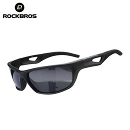 Wholesale Rockbros Polarized Sunglasses - Wholesale- ROCKBROS Cycling Glasses Polarized Bike Sport Mountain Bike MTB Bicycle Motorcycle Sunglasses Cycling Eyewear Bike Accessories