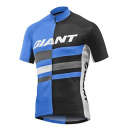 Wholesale Giant Pro Short Sleeve Jersey - Giant 2017 Mens Summer Cycling Jersey Bicycle Pro Maillot Ciclismo Short Sleeve Cycling Clothing Tops Mtb Bike Ropa Ciclismo hombre #RB-28