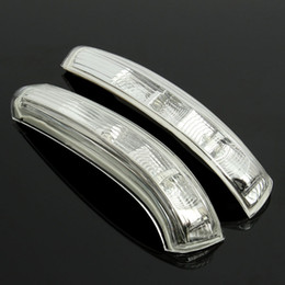 Wholesale Led Mirror Signal Lights - 1Pair Rear View Mirror Turn Signal LED Light Side Lamp For Chevrolet-Captiva 2011 2012 2013 2014
