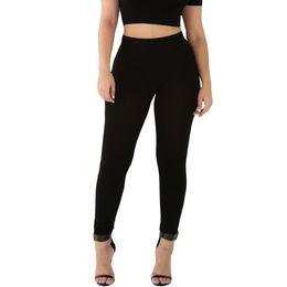 Wholesale Winter Leggings Womens - S-XL 10 Colors Sexy Womens High Waist Black Workout Leggings New 2016 winter Fashion Women Fitness Legging Work Out Pants 17411