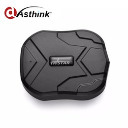 Wholesale Magnet Photo - 2016 New Hot TKSTAR TK905 Waterproof IP 66 Vehicle GPS Tracker Truck Person 90 Days Long Standby Time Powerful Magnet Lifetime