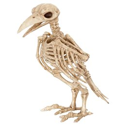 Wholesale Mouse Fishing - Animal Skeleton Model Halloween Decoration Bar Party Haunted House Decoration Crow Frog Mouse Fish Scorpion Spider