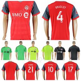 Wholesale Club 33 - Toronto Football Club FC Toronto Soccer Jersey 17-18 Thai Custom Shirt Kits 2 MORROW 3 MOOR 7 VAZQUEZ 8 CHEYROU 33 BEITASHOUR 87 RICKETTS