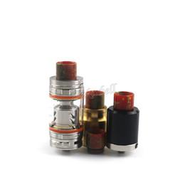 Смола капельного советы для SMOK TFV8 электронные сигареты Ecigs испаритель бак испаритель Fit 510 распылители 6 цветов от