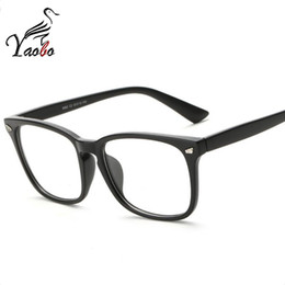 Wholesale Square Eyeglass Fashion Frames - Yaobo Brand Design Fashion square Women Eyeglasses Frames men Computer Reading Spectacle Optical Frame Eye Glasses