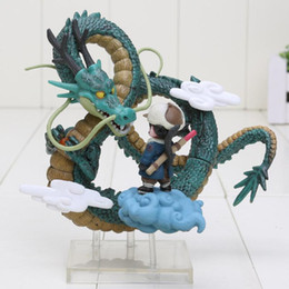 Wholesale Dragon Ball Shenron - Anime Dragon Ball Z Goku games Museum Collection Shenron Son Goku Action Figure model Toy Free Shipping
