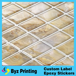 Wholesale Glass Mosaic Wall Design - New design waterproof removable self adhesive kitchen wall tiles bathroom tiles of mosaic art