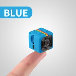 Wholesale Dvr Security Microphone - Ultra Mini HD-Mega Lens SQ11 DV HD 1080P Mini Camera 12MP Car DVR Motion Detection Infrared Home Security Voice Video Recorder