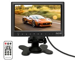 "Wholesale Tv Screens For Buses - 7"" inch LCD HD Parking Dashboard Display Screen car Rear View Monitor with MP5 Player for Cars   Bus   Truck   Caravan"