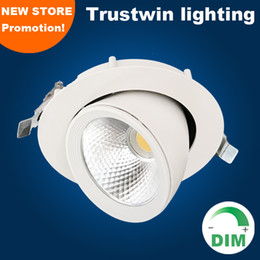 2019 luci registrabili regolabili regolabili Faretto LED a soffitto Faretto a LED a soffitto dimmerabile Giradischi dimmerabile orientabile a LED orientabile dimmerabile luci registrabili regolabili regolabili economici