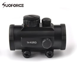 Wholesale Red Dot Sight Multi - Tactical Hunting 1x40 Optical Scope Holographic Red and Green Multi-Dot Sight Rifle Scope fit 20 mm Rail Mount