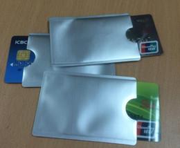 Titolari di passaporto rfid online-Cassa impermeabile antifurto della banca di 2000pcs / lot delle maniche della carta di credito dei supporti del passaporto di RFID