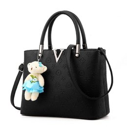 Wholesale Leisure Bag Zipper - New Arrival 2017 Women Fashion Handbags Pu Leather Shoulder Lady Bags Messenger Big Leisure Handbag for Women