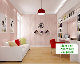 Wholesale Vinyl Wood Backdrop - Modern fashion Wallpapers Self-adhesive Minimalist Living Room Bedroom TV Backdrop Vertical Striped Wallpaper Roll Wall Paper