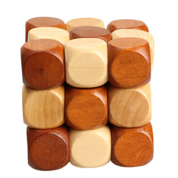 Wholesale Wood Dragon Puzzle - Dragon Tail Magic Cube Style Rubber Wood Adult Children Intelligence Puzzle Lock Toy 3D Jigsaw Puzzle Toy