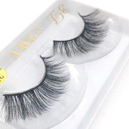 Wholesale Fine Boutique - 1 Pair Fine Boutique 3D Eyelashes Thick Long Black Body Lashes Pure Hand Beauty Makeup Eyes Big Eye Tools False Eyelashes