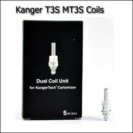 Wholesale Cheap Kangertech - Clone Kanger T3S MT3S Coils Replacemeant Heating Coils Cheap Coils For KangerTech Vaporizer Atomizer T3S MT3S